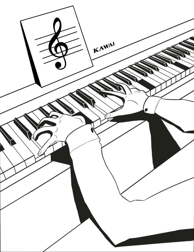 Пианино для обучения игры на фортепиано